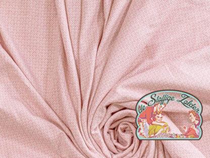 Vintage pink jacquard jersey
