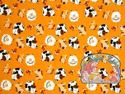 Farm animals ocher jersey