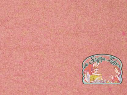 Boucle pink wool