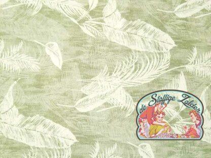 Borneo grijsgroen canvas