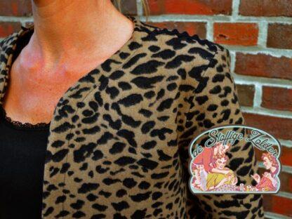 Javi luipaard jacquard, artikel 080920, kleur 299672