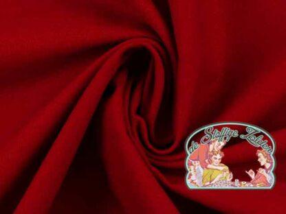 Effen donker rood