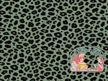 Leopard green tetra babycotton