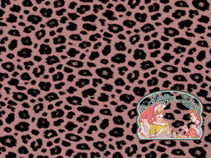 Leopard pink tetra babycotton
