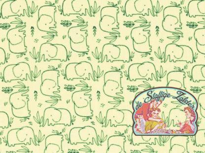 Elephant white tetra babycotton