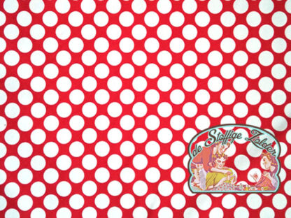 Fiete dots red softshell