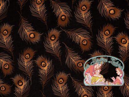 softshell zwart pauwenpluimen