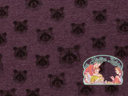 Eiger raccoon purple melange alp fleece