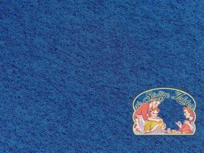 Lottchen viscose tricot melange blauw