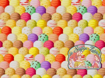 Ice creams tricot jersey