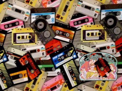 Cassettes fotoprint jersey