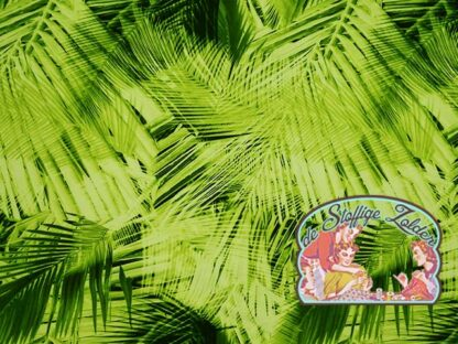 Palm leaves fotoprint jersey