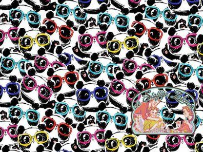 Panda glasses tricot jersey