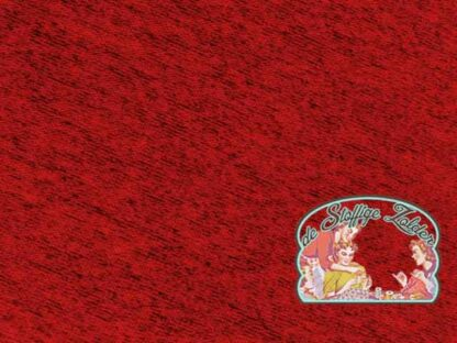 Lottchen viscose tricot melange terracotta