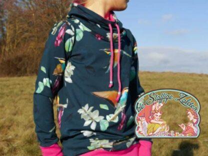 Sonado by Bienvenido Colorido petrol tricot jersey