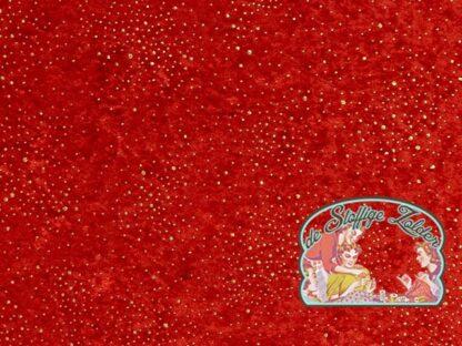 Gold and red velours de panne velvet
