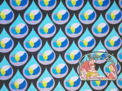 Blue drops summersweat jersey