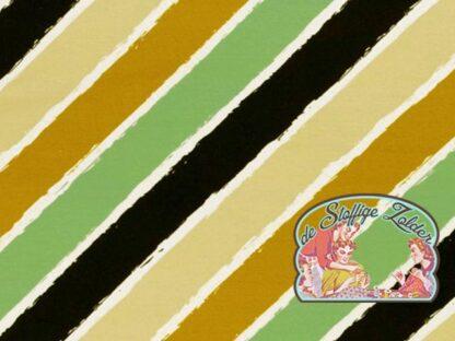 Diagonally by Lycklig designe oker munt tricot zomersweat, artikel 081270, kleur 314262