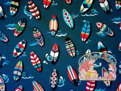 Surfing dark blue summersweat tricot