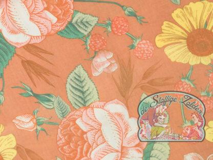 Bloom garden pink tetra babycotton
